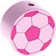 Voetbal Pastelroze