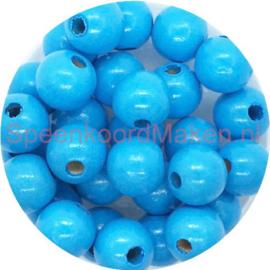 Houtenkraal ø12mm Lichtblauw