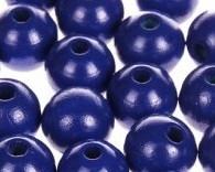 Houtenkraal ø18mm Donkerblauw