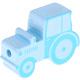 Tractor Babyblauw