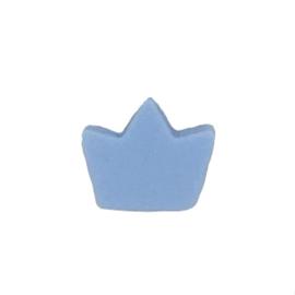 Siliconenkraal Kroontje IJsblauw