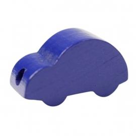 Auto effen Donkerblauw