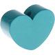 Hartje (M) Donkerturquoise