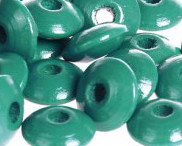 Disckraal ø14mm Donkerturquoise