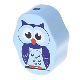 Retro Uil Babyblauw