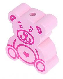 Teddybeer-kraal Pastelroze