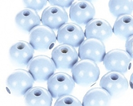 Houtenkraal ø12mm Hemelsblauw