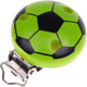 Speenclip Voetbal Lichtgroen