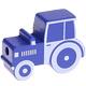Tractor Donkerblauw