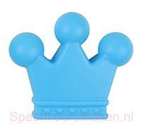 Siliconenkraal Kroontje Blauw