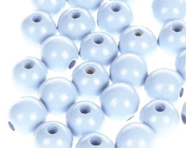 Houtenkraal ø12mm Hemelsblauw 25st.