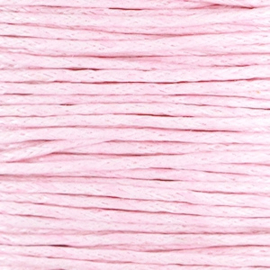 Waxkoord Lightpink ø1mm (p.mtr)