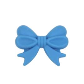Siliconenkraal Strikje Lichtblauw