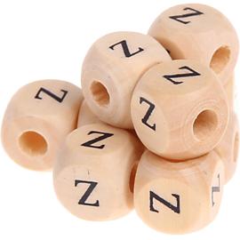 Letterkraal -Z- gedrukt 12mm 8st.