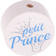 Petit Prince kraal Wit-Lichtblauw