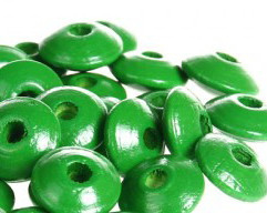 Disckraal ø10mm Groen 30st.
