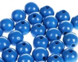 Houtenkraal ø8mm Blauw