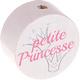 Petite Princesse kraal Wit-Roze