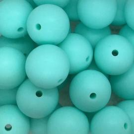 Siliconenkraal ø15mm Lichtturquoise