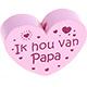 Ik hou van papa Pastelroze