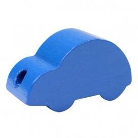 Auto effen Blauw