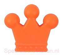Siliconenkraal Kroontje Oranje