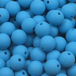 Siliconenkraal ø12mm Aquablauw