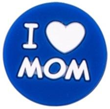 Siliconenkraal I ♥ MOM Donkerblauw