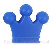 Siliconenkraal Kroontje Donkerblauw