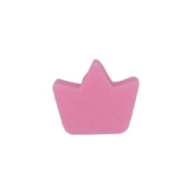 Siliconenkraal Kroontje Roze