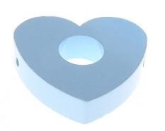Hartenkraal 42x42x10mm Babyblauw