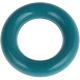 Mini Ring Donkerturquoise