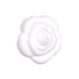 Siliconenkraal Roosje Wit