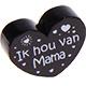 Ik hou van mama Zwart