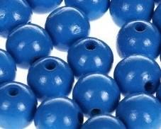 Houtenkraal ø18mm Blauw