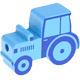 Tractor Lichtblauw