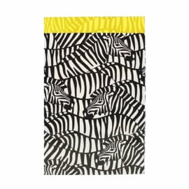 Cadeauzakje Zebra 12x19cm