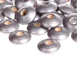 Disckraal ø10mm Zilver