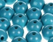 Houtenkraal ø18mm Turquoise