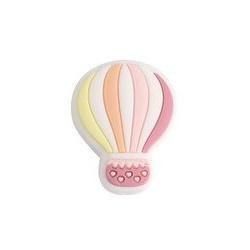 Siliconenkraal Luchtballon Roze