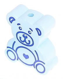 Teddybeer-kraal Babyblauw
