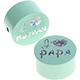 J'♥ maman-papa Mint-Glitter