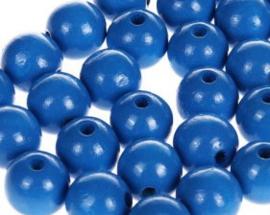 Houtenkraal ø12mm Blauw 25st.