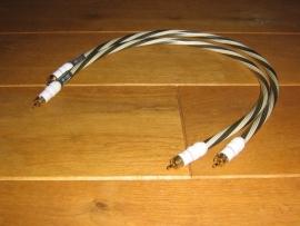 Inakustik - Black & White NF 1202 RCA 0.6 meter.