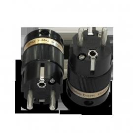 IeGo  8065 Silver plated  Schuko Plug