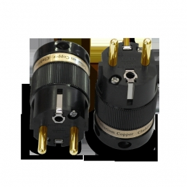 IeGo  8085 Gold plated  Schuko Plug