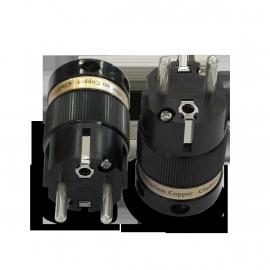 IeGo  8095 Pure Silver, Rh plated  Schuko Plug