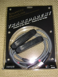 Transparent Cable BML Balanced MusicLink