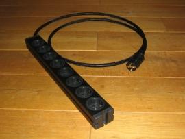 zeer fraaie kwaliteit audio / video stekkerdoos