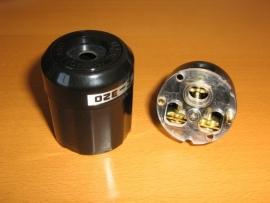 Audio grade IEC connector model 3